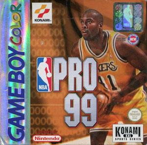 Juego online NBA PRO 99 (GBC)