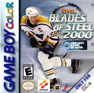 Portada de la descarga de NHL Blades of Steel 2000