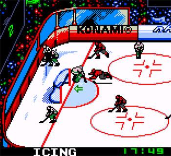 Imagen de la descarga de NHL Blades of Steel 2000