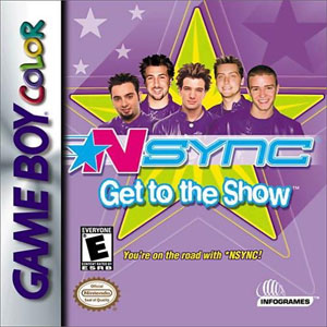 Juego online NSync: Get to the Show (GBC)