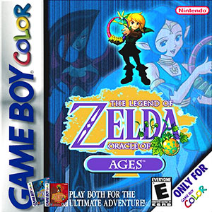Juego online The Legend of Zelda: Oracle of Ages (GB COLOR)
