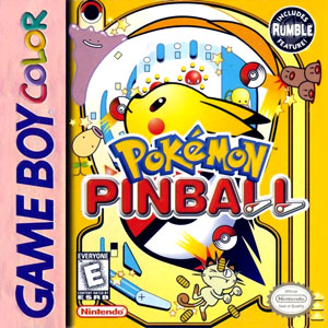 Portada de la descarga de Pokemon Pinball
