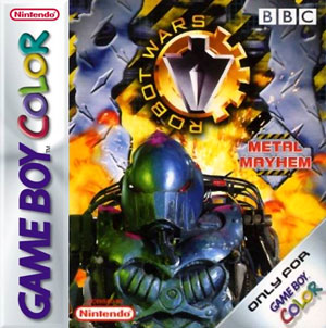 Portada de la descarga de Robot Wars: Metal Mayhem
