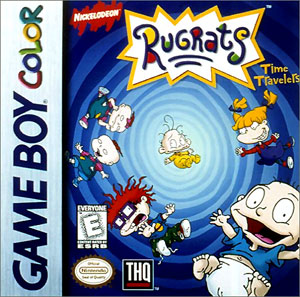 Juego online Rugrats: Time Travelers (GBC)