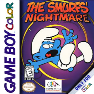Juego online The Smurfs Nightmare (GBC)