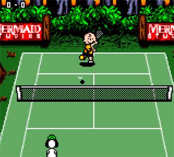 Imagen de la descarga de Snoopy Tennis