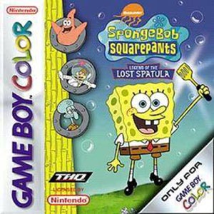 Portada de la descarga de SpongeBob SquarePants: Legend of the Lost Spatula