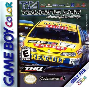 Juego online TOCA Touring Car Championship (GBC)