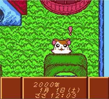 Pantallazo del juego online Tottoko Hum Taru (GBC)