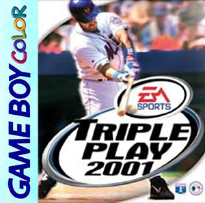 Juego online Triple Play 2001 (GBC)