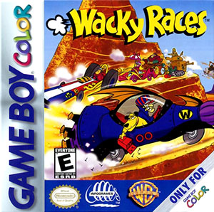 Carátula del juego Wacky Races (GB COLOR)