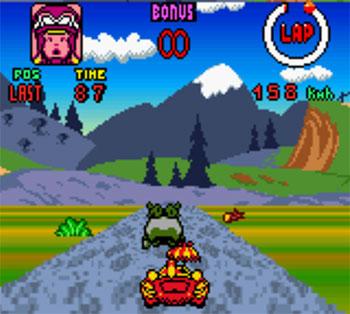 Pantallazo del juego online Wacky Races (GB COLOR)
