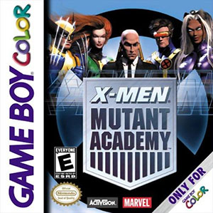 Carátula del juego X-Men Mutant Academy (GB COLOR)