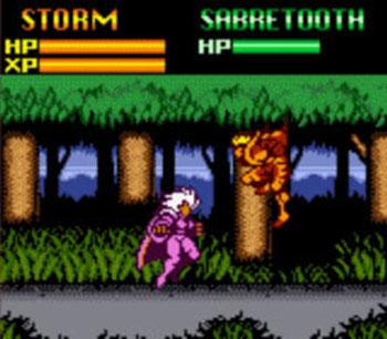 Pantallazo del juego online X-Men Mutant Wars (GB COLOR)