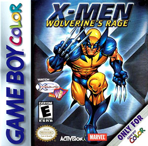 Juego online X-Men - Wolverine's Rage (GB COLOR)