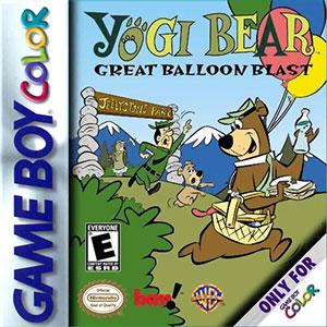 Portada de la descarga de Yogi Bear: Great Balloon Blast