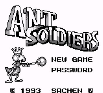 Juego online Ant Soldiers (GB)