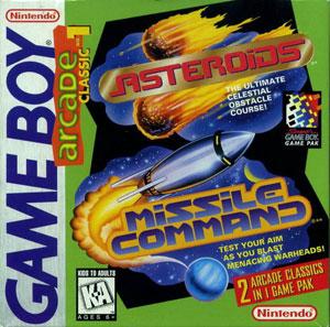 Portada de la descarga de Arcade Classic No. 1: Asteroids – Missile Command