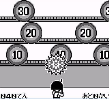Pantallazo del juego online Chibi Maruko-Chan Maruko Deluxe Gekijou (GB)