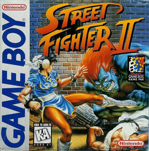 Portada de la descarga de Street Fighter II