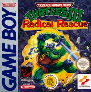 Portada de la descarga de Teenage Mutant Ninja Turtles III: Radical Rescue