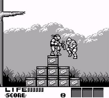 Imagen de la descarga de Teenage Mutant Ninja Turtles III: Radical Rescue