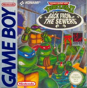 Portada de la descarga de Teenage Mutant Ninja Turtles II: Back From The Sewers