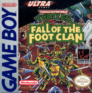 Portada de la descarga de Teenage Mutant Ninja Turtles: Fall of the Foot Clan