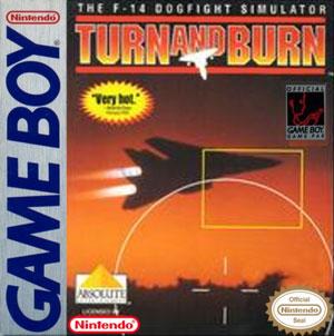 Portada de la descarga de Turn and Burn: The F-14 Dogfight Simulator