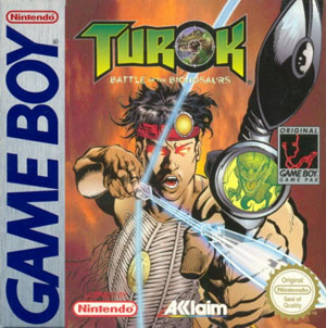 Portada de la descarga de Turok: Battle of the Bionosaurs