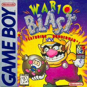 Portada de la descarga de Wario Blast: Featuring Bomberman!