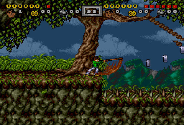 Pantallazo del juego online 3 Ninjas Kick Back (Genesis)