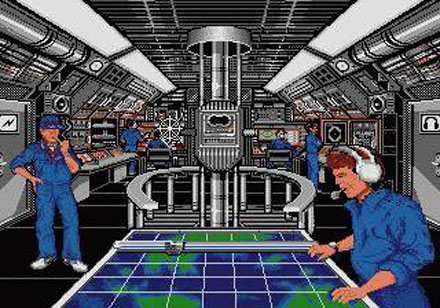 Pantallazo del juego online 688 Attack Sub (Genesis)