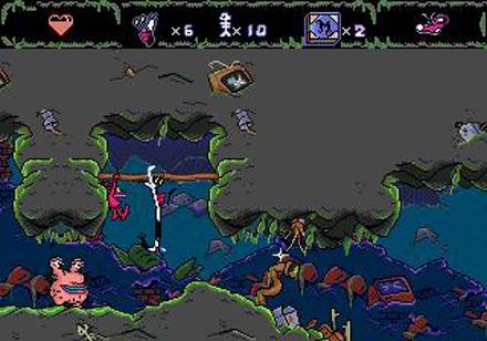 Pantallazo del juego online AAAHH Real Monsters (Genesis)