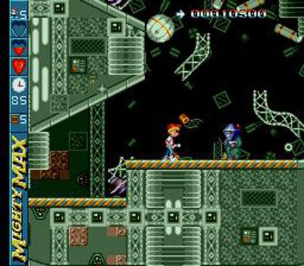 Imagen de la descarga de The Adventures of Mighty Max