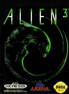 Carátula del juego Alien 3 (Genesis)