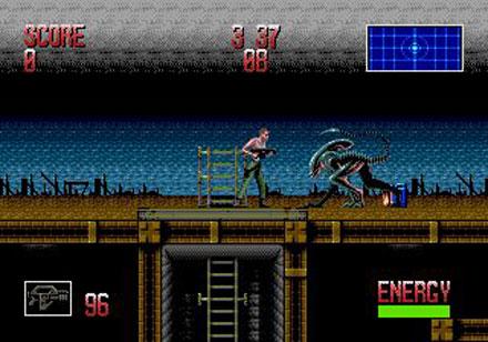 Pantallazo del juego online Alien 3 (Genesis)