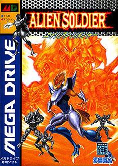 Carátula del juego Alien Soldier (Genesis)
