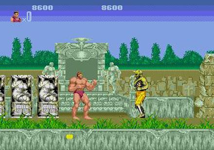 Pantallazo del juego online Altered Beast (Genesis)