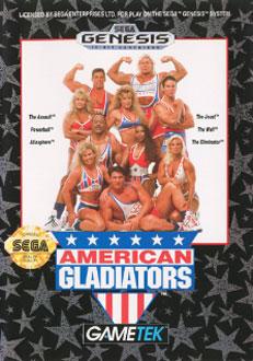 Portada de la descarga de American Gladiators