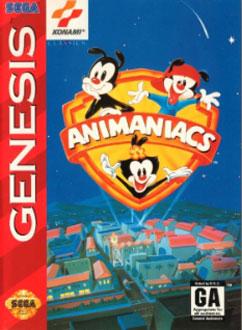 Carátula del juego Animaniacs (Genesis)