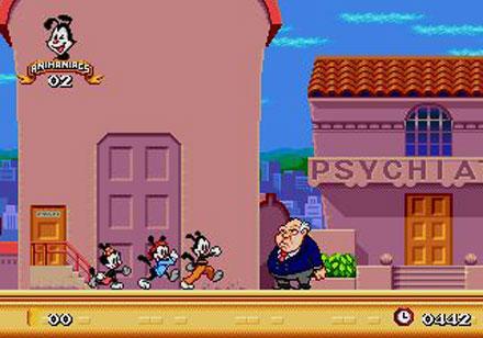 Pantallazo del juego online Animaniacs (Genesis)