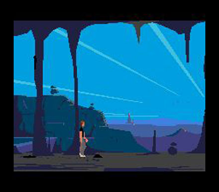 Pantallazo del juego online Another World (Genesis)