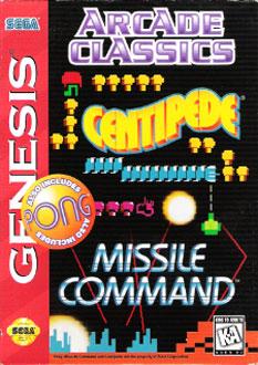 Carátula del juego Arcade Classics (Genesis)