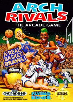 Carátula del juego Arch Rivals (Genesis)