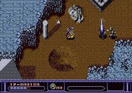Pantallazo del juego online Arcus Odyssey (Genesis)
