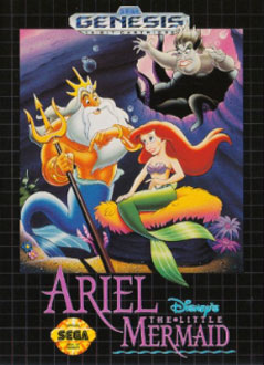 Carátula del juego Ariel The Little Mermaid (Genesis)