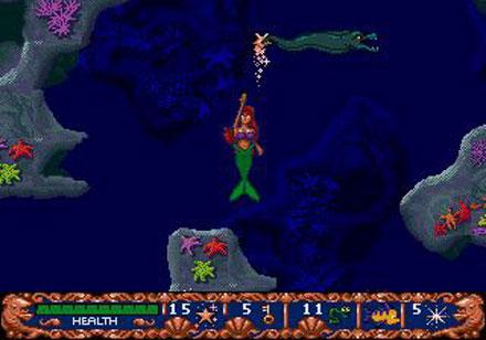 Pantallazo del juego online Ariel The Little Mermaid (Genesis)