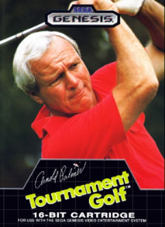 Carátula del juego Arnold Palmer Tournament Golf (Genesis)