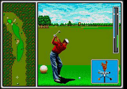 Pantallazo del juego online Arnold Palmer Tournament Golf (Genesis)